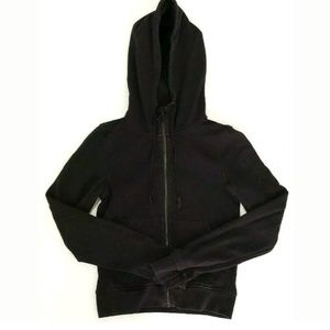 Lululemon Womens Jacket Size 4 Cropped Hoodie